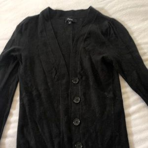 Express black cardigan